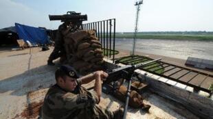 Une trentaine de soldats français sont positionnés à l'aéroport de Bangui