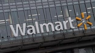 El logo del gigante estadounidense de las ventas minoristas en una de sus tiendas en Washington, en una foto de marzo de 2019