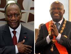ساحل العاج: دولة ورئيسان