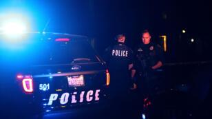 La police était à la recherche de suspects, mercredi 2 novembre 2015, après la fusillade de San Bernadino, en Californie.