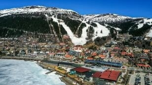 An overview of the ski resort of Are, Sweden