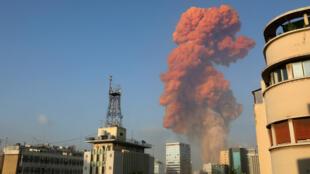 Beirut explosion Liban
