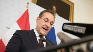 Austria's Vice-Chancellor and chairman of the Freedom Party Heinz-Christian Strache stepped down over a corruption scandal