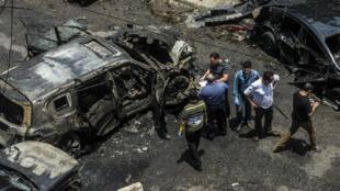 Le procureur général d'Égypte, Hicham Barakat, a été visé dans un attentat à la voiture piégée, lundi 29 juin 2015, alors qu'il quittait son domicile du Caire.