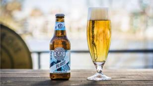 La bière Pu:rest est brassée à partir d'eaux usées recyclées à Stockholm.