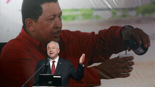 El exministro de Petróleo Rafael Ramírez, en mayo 2013