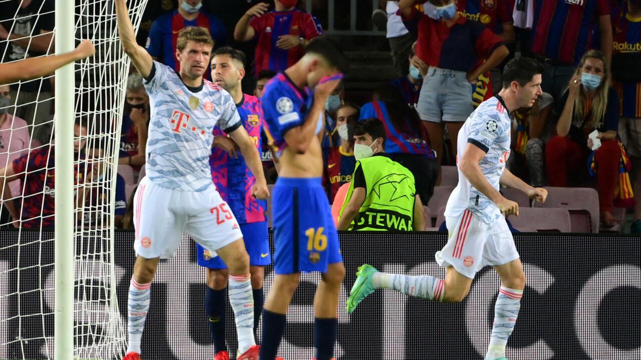 دوري أبطال أوروبا: بايرن ميونيخ يقسو على برشلونة في عقر داره بثلاثية نظيفة