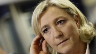 Marine Le Pen. \ AFP