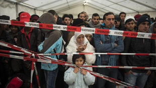 German Chancellor Angela Merkel set aside the rules in summer 2015 to allow 900,000 mostly Syrian asylum seekers in