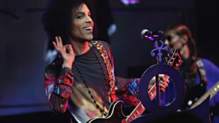 Prince, lors d'un concert le 19 mai 2015 à Toronto.