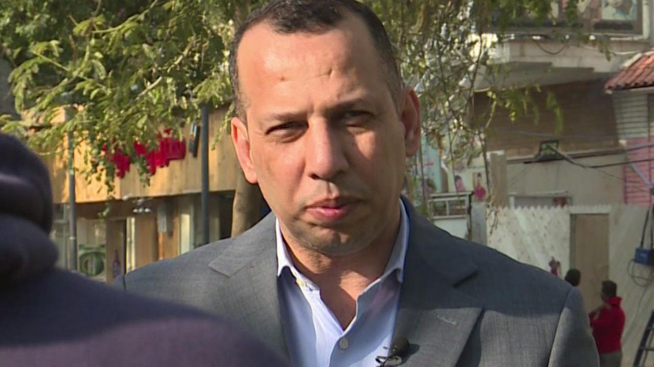 هشام الهاشمي، الخبير في شؤون الجماعات الجهادية، في لقطة من مقابلة فيديو مع وكالة الأنباء الفرنسية في بغداد في 11 فبراير/شباط 2019.