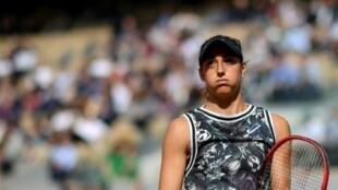 La Française Caroline Garcia lors de Roland-Garros, le 30 mai 2019