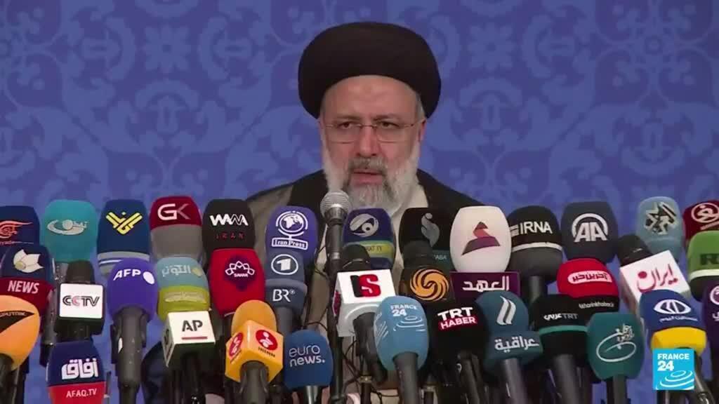 2021-08-05 19:03 Ebrahim Raisi es juramentado ante el Parlamento iraní