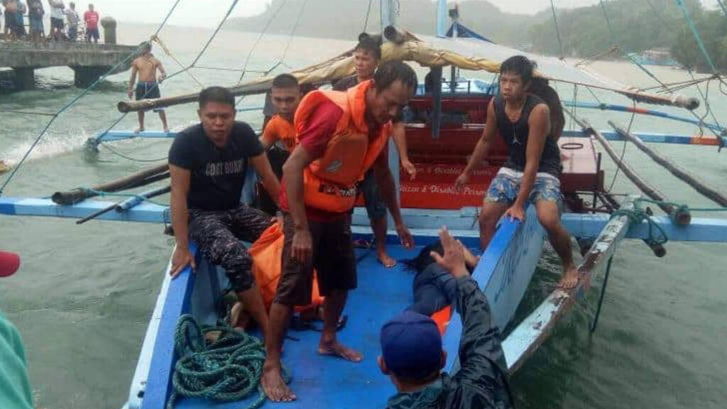 Dozens dead after three ferries capsize in Philippines