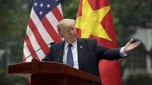 Le Vietnam est l'avant-dernière étape de la tournée asiatique du président américain.