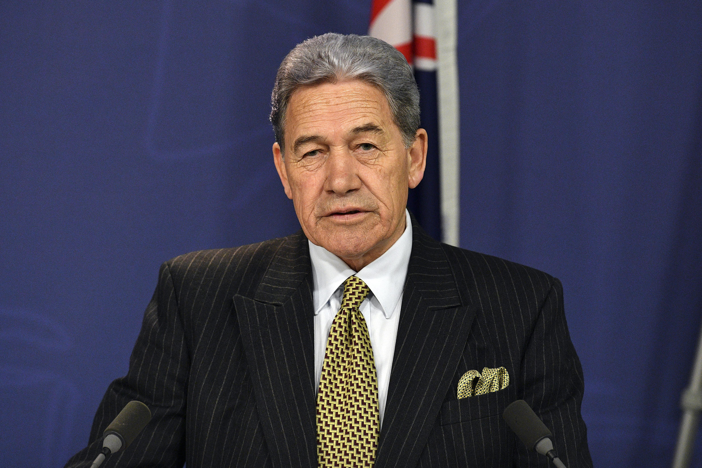 """El ministro de Relaciones Exteriores, Winston Peters dijo que """"Nueva Zelanda ya no puede confiar en que el sistema de Justicia penal de Hong Kong sea lo suficientemente independiente de China""""."""