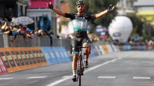 Peter Sagan won the Giro 10th stage to complete wins on all three Grand Tours -- Italy, France and Spain.