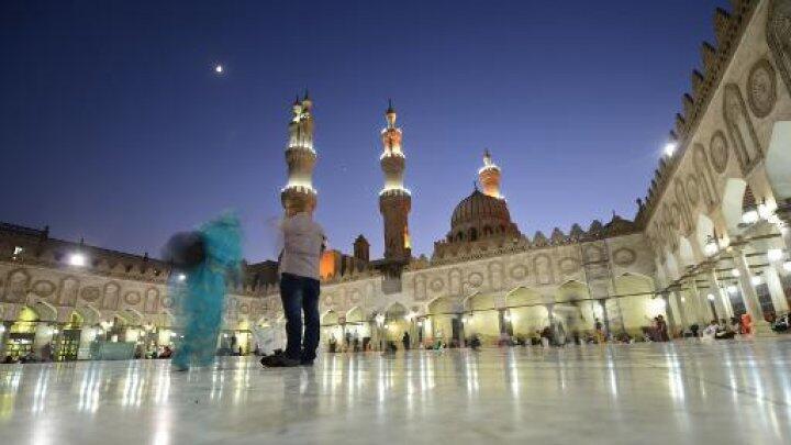 باحة المسجد الأزهر