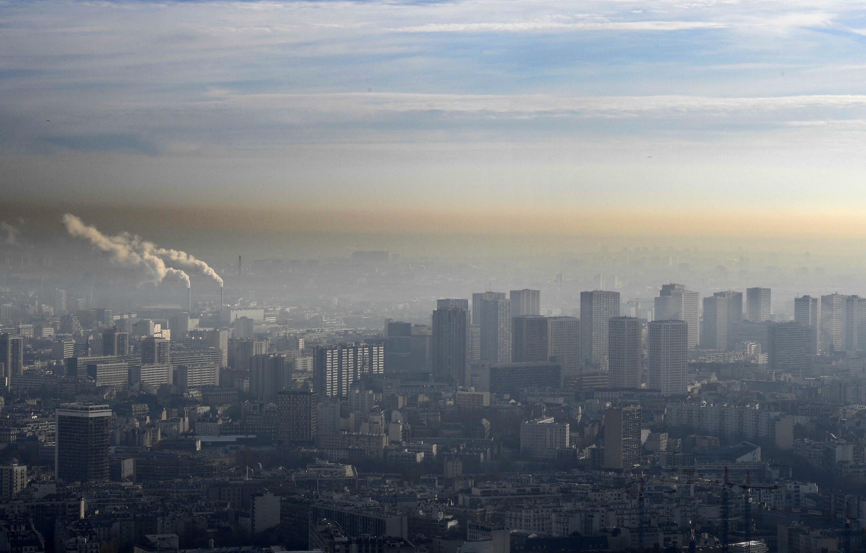 pollution france paris