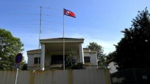 السفارة الكورية الشمالية في كوالالمبور، السبت 18 شباط/فبراير 2017
