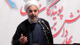 Le président Hassan Rohani.