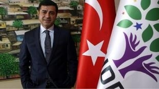 صلاح الدين دمرتاش زعيم حزب الشعب الديمقراطي في أنقرة - 30 يوليو 2015