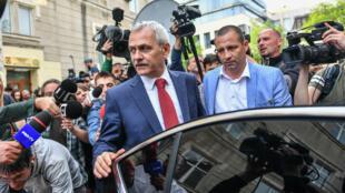 Liviu Dragnea, président a été condamné en 2016 à deux ans de prison avec sursis pour fraude électorale.