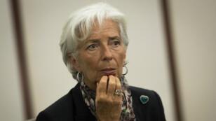 La directrice générale du Fonds monétaire international, Christine Lagarde, le 18 juillet 2016, à New York.