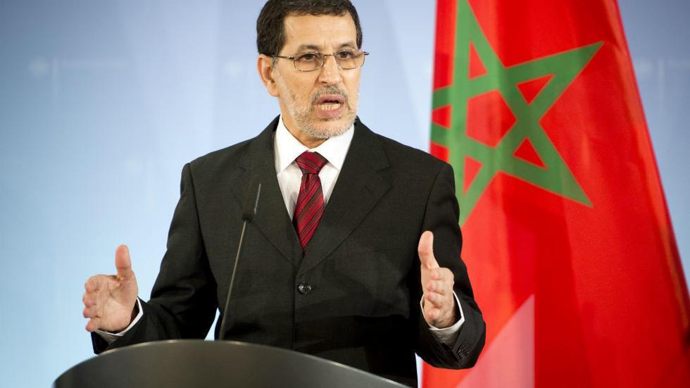 رئيس الحكومة المغربية سعد الدين العثماني.