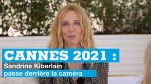 Sandrine Kiberlain à Cannes