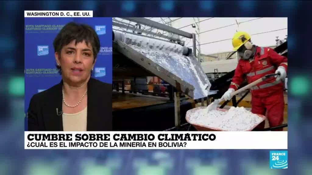 """2021-04-22 19:04 Cecilia Requena: """"Bolivia no ha tenido una minería sostenible desde la colonia"""""""