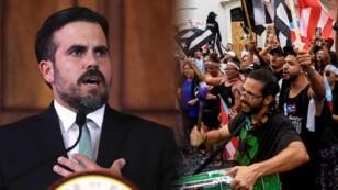 Ricardo Rosselló está contra las cuerdas luego de que se filtrara un chat, en el que el gobernador participó, donde hubo comentarios homófobos y sexistas.