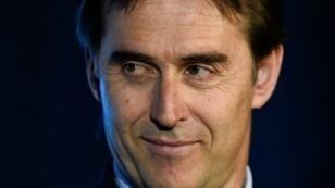 مدرب منتخب إسبانيا في كرة القدم جولن لوبيتيغي في 21 أيار/مايو 2018 بمدريد