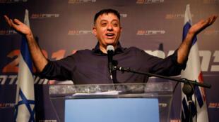 Le leader du Parti travailliste Avi Gabbay n'a pas réussi à empêcher la déroute de la gauche israélienne lors des élections législatives du 9avril2019..