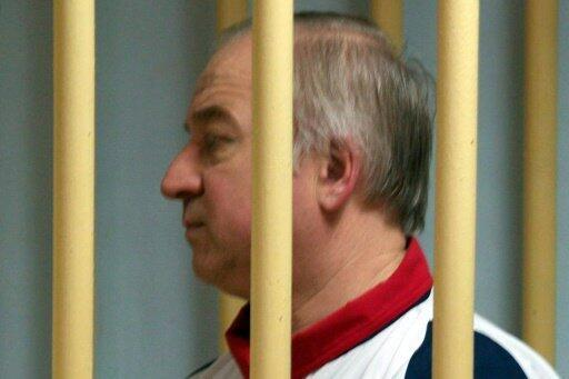 الضابط السابق في الاستخبارات العسكرية الروسية سيرغي سكريبال أثناء حضوره إحدى جلسات محاكمته في موسكو في التاسع من آب/أغسطس 2006
