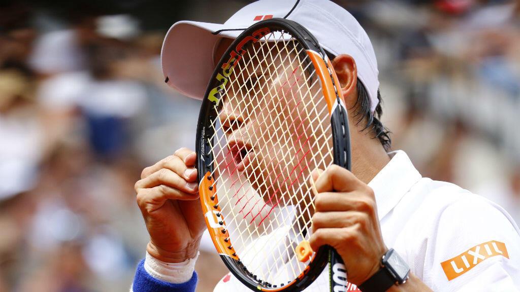 Le Japonais Kei Nishikori a été impitoyable face au Russe Gabashvili.