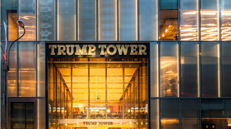 La Trump Tower sur la 725e avenue à New York.