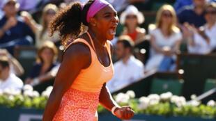 L'Américaine Serena Williams, n°1 mondiale.