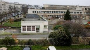 L'école Jacques-Perrin à Aubervilliers, 14 décembre 2015.
