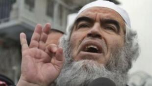 الشيخ رائد صلاح زعيم الحركة الإسلامية في إسرائيل