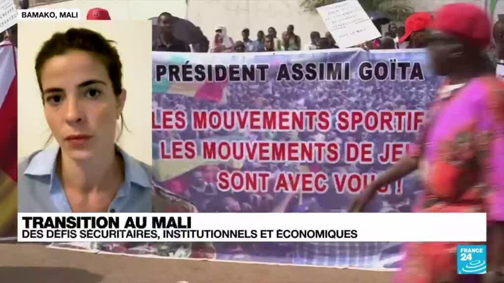 2021-06-07 09:02 Transition au Mali : des défis sécuritaires, institutionnels et économiques pour le colonel Goïta