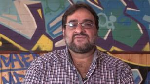 Hanif Qatir, fondateur de l'association Active Change, à l'origine de la campagne #NotInMyName
