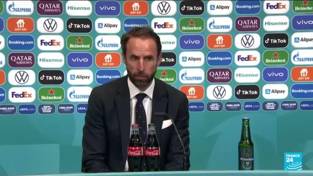2021-07-12 11:02 'England players must be proud but penalty takers my call', says coach Gareth Southgate