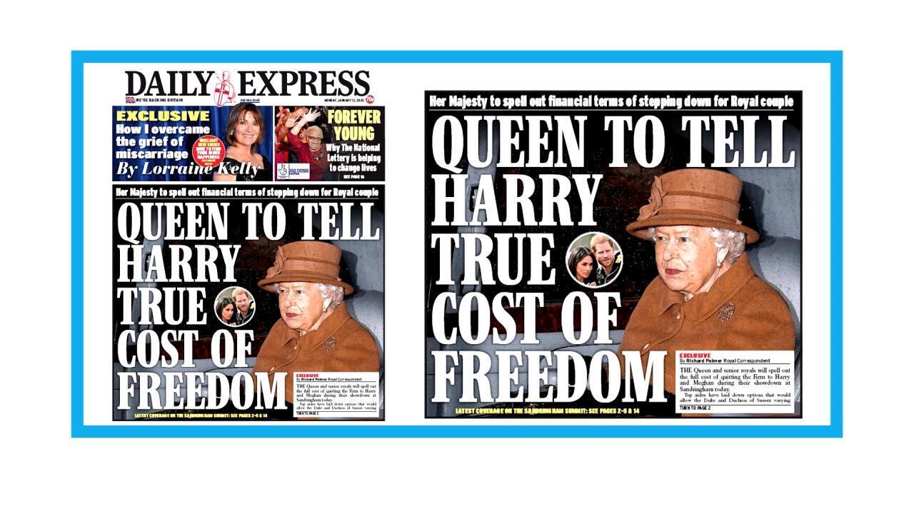 La reine Elizabeth convoque la famille royale