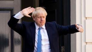 رئيس الوزراء البريطاني بوريس جونسون. 19 أغسطس/آب 2019. أ ف ب