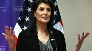US ambassador to the United Nations, Nikki Haley, says the UN Human Rights Council treats Israel worse than North Korea, Iran and Syria