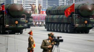 Les missiles ballistiques intercontinentaux nord-coréens sont entreposés au nord du pays.