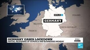 2020-05-04 13:05 Germany mostly returns to work, despite fears of a second wave