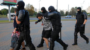 BELARUS-ELECTION-PROTESTS-SECOND-DAY