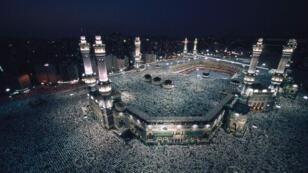 المسجد الحرام في مكة.